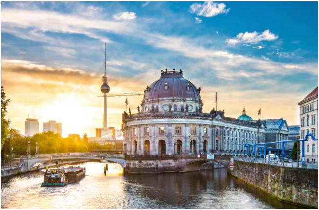 History is strongly present in Berlin
