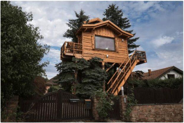 Tree house in Krems-Land in Lower Austria